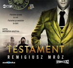 Testament, Remigiusz Mróz - audiobook na płycie CD mp3
