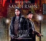 Stop prawa, Brandon Sanderson - audiobook płyta CD mp3
