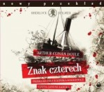 Znak czterech, Arthur Conan Doyle - audiobook płyta CD - mp3