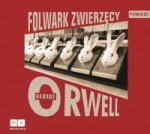 Folwark zwierzęcy, George Orwell - audiobook płyta CD mp3