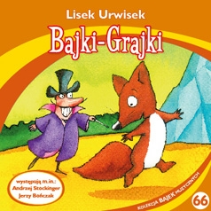 Lisek Urwisek, Bajki-Grajki - audiobook płyta CD audio