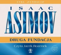 Druga Fundacja, Isaac Asimov - audiobook na płycie CD mp3