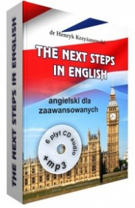 The Next Steps in English, Henryk Krzyżanowski - książka + 6 płyt CD audio + CD mp3