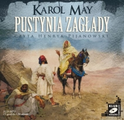 Pustynia Zagłady, Karol May - audiobook płyta CD mp3