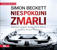 Niespokojni zmarli, Simon Beckett - audiobook płyta CD mp3