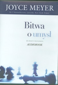 Bitwa o umysł, Joyce Meyer - audiobook na płycie CD mp3