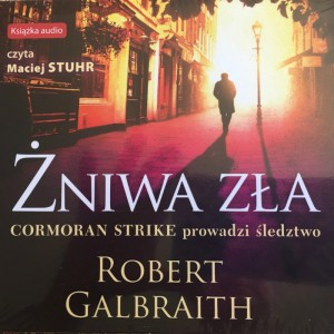 Żniwa zła, Robert Galbraith, pseud. J.K. Rowling - audiobook płyta CD mp3