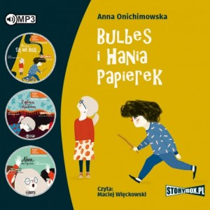 Pakiet: Bulbes i Hania Papierek - Anna Onichimowska - audiobook CD mp3