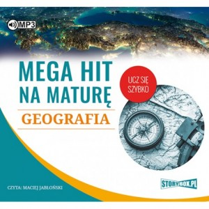 Mega hit na maturę. Geografia - audioook CD mp3