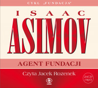 Agent fundacji, Isaac Asimov - audiobook CD mp3