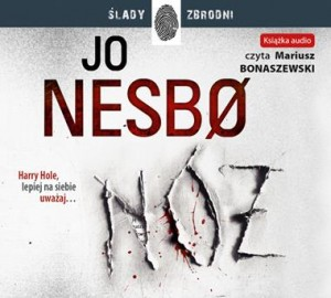 Nóż, Jo Nesbo - audiobook CD mp3