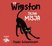 Kot Winston. Tajna misja, Frauke Scheunemann - audiobook CD mp3