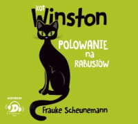 Kot Winston. Polowanie na rabusiów, Frauke Scheunemann - audiobook CD mp3