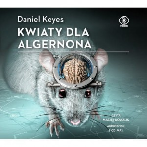 Kwiaty dla Algernona, Daniel Keyes - audiobook CD mp3