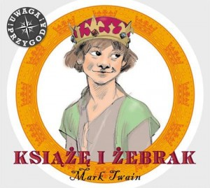 Książę i żebrak, Mark Twain - audiobook CD mp3
