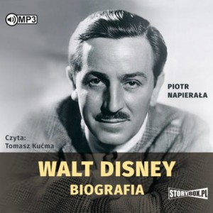 Walt Disney. Biografia, Piotr Napierała - audiobook CD mp3