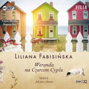 Jak pies z kotem. Tom 2. Weranda na Czarcim Cyplu, Liliana Fabisińska - audiobook CD mp3