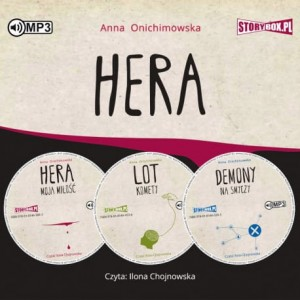 Pakiet: Hera, Anna Onichimowska - audiobooki CD mp3