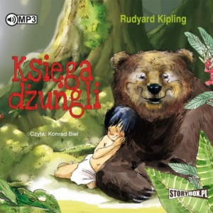 Księga dżungli, Rudyard Kipling - audiobook CD mp3