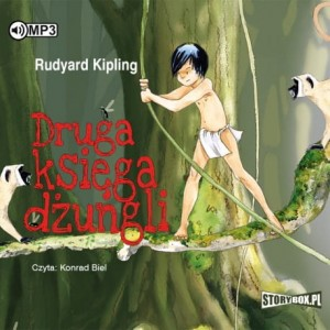 Druga księga dżungli, Rudyard Kipling - audiobook CD mp3