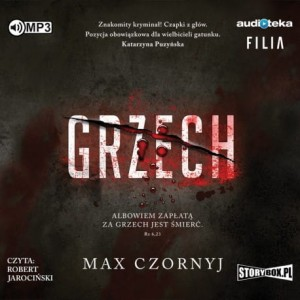 Grzech, Max Czornyj - audiobook CD mp3