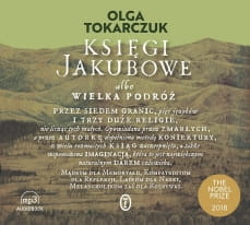 Księgi Jakubowe, Olga Tokarczuk - audiobook CD mp3