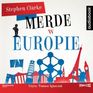 Merde w Europie, Stephen Clarke - audiobook CD mp3