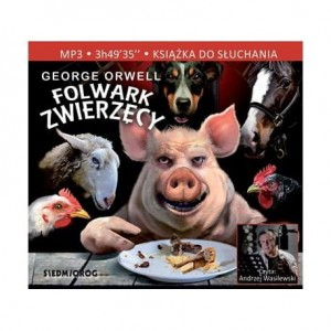 Folwark zwierzęcy, George Orwell - audiobook CD mp3