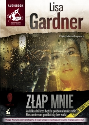 Złap mnie, Lisa Gardner - audiobook płyta CD - mp3