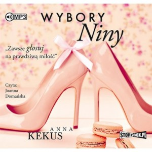 Wybory Niny, Anna Kekus - audiobook na płycie CD mp3