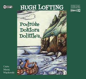 Podróże doktora Dolittle'a, Hugh Lofting - audiobook na płycie CD mp3