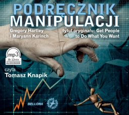 Podręcznik manipulacji, Gregory Hartley i Maryann Karinch - audiobook płyta CD - mp3