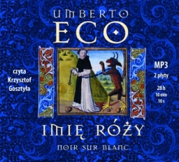Imię róży, Umberto Eco - audiobook płyty CD - mp3