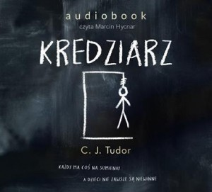Kredziarz, C.J. Tudor - audiobook na płycie CD mp3