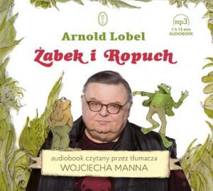Żabek i Ropuch, Arnold Lobel - audiobook płyta CD mp3