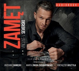 Zamęt, Vincent V. Severski, superprodukcja - audiobook na płycie CD mp3