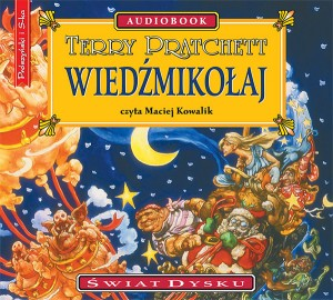 Wiedźmikołaj, Terry Pratchett - audiobook płyta CD mp3