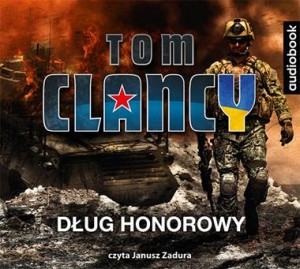 Dług honorowy, Tom Clancy - audiobook CD mp3