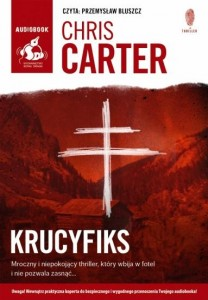 Krucyfiks, Chris Carter - audiobook płyta CD mp3