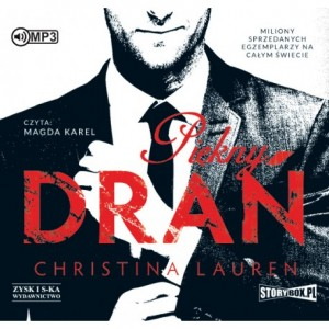 Piękny drań, Christina Lauren - audiobook na płycie CD mp3