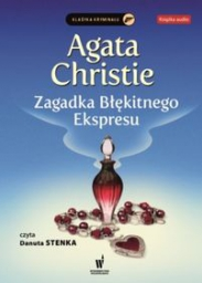 Zagadka Błękitnego Ekspresu, Agatha Christie - audiobook płyta CD - mp3