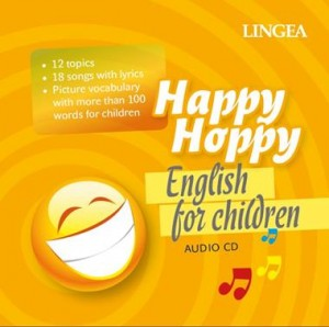 Happy Hoppy. English for children. Angielskie piosenki dla dzieci - audiobook na płycie CD mp3