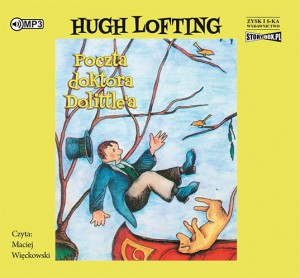 Poczta Doktora Dolittle'a, Hugh Lofting - audiobook na płycie CD mp3