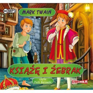 Książę i żebrak, Mark Twain - audiobook na płycie CD mp3