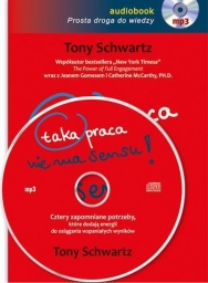 Taka praca nie ma sensu! Tony Schwartz - audiobook płyta CD - mp3