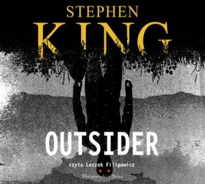 Outsider, Stephen King - audiobook na płycie CD mp3