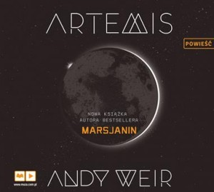 Artemis, Andy Weir - audiobook na płycie CD mp3
