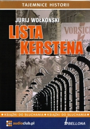 Lista Kerstena, Jurij Wołkoński - audiobook płyta CD audio