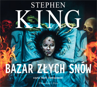 Bazar złych snów, Stephen King - audiobook płyta CD mp3