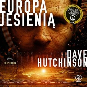 Europa jesienią, Dave Hutchinson - audiobook na płycie CD mp3
